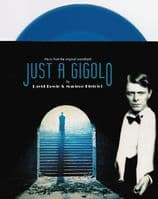 DAVID BOWIE AND MARLENE DIETRICH Just A Gigolo Vinyl Record 7 Inch Music On Vinyl 2019 Blue Vinyl